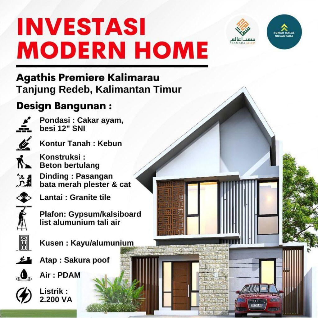 Rumah Syariah Dengan Smart Home System Di Tanjung Redep Kalimantan Timur