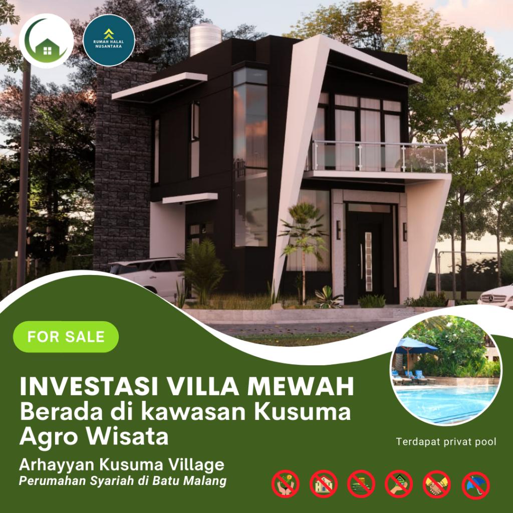 Tinggalkan Riba dan Beli Hunian Syariah di Batu Malang | Arhayyan Kusuma Village